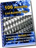 106 List Building Tips
