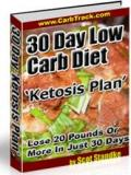 Low Carb Diet Ketosis Plan 30-Days