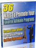 36 Ways To Promote Affiliate Programes