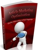 Article Marketing Optimization