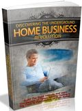 Discovering The Underground Home Business Revolution