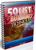 50 List Building Techniques