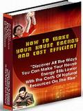 Make Your Home Energy And Cost Efficient