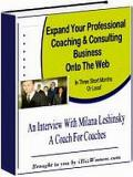 Professional Coaching And Consulting Business