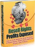 Resell Rights Products Exposed