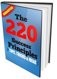 The 220 success principles, tips, tricks, ideas