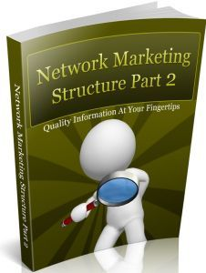 Network Marketing Structure – Part 2