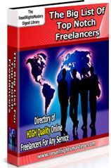 The Big List Of Top Notch Freelancers