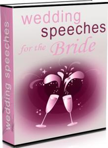 Wedding Speeches for the Bride